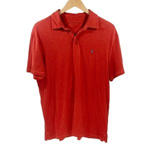 John Varvatos Star USA Peace Polo Cotton Orange L